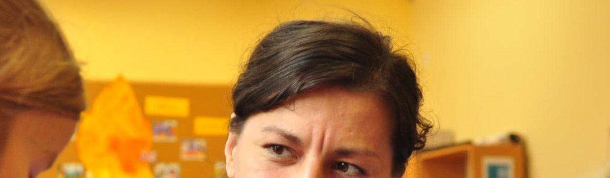 Małgorzata Malińska – wychowawczyni grupy Stokrotek (zerówka)