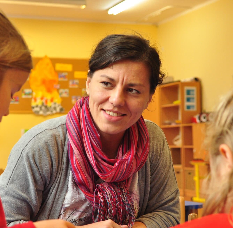 Małgorzata Malińska - wychowawczyni grupy Stokrotek (zerówka)