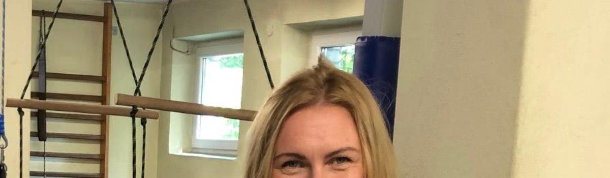 Sylwia Stopka – nauczycielka wychowania fizycznego