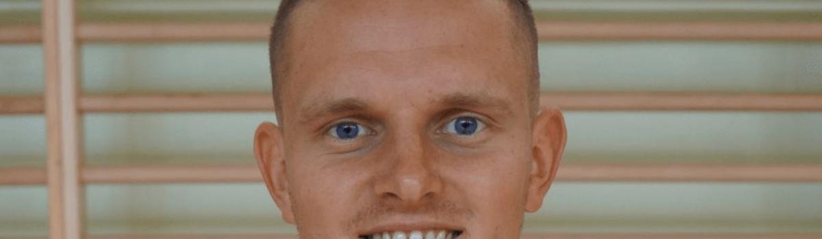 Jan Wleciałowski – nauczyciel WF, koordynator i trener piłki nożnej UKS Kuźnica