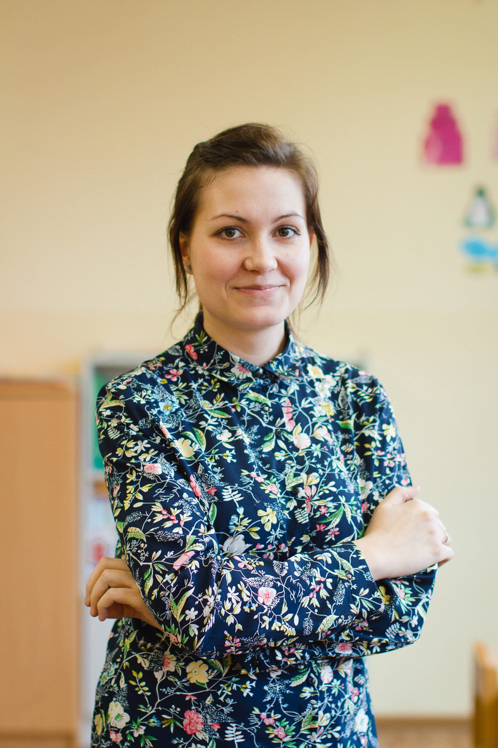 Karolina Przybył - wychowawczyni grupy Prymulek (zerówka)